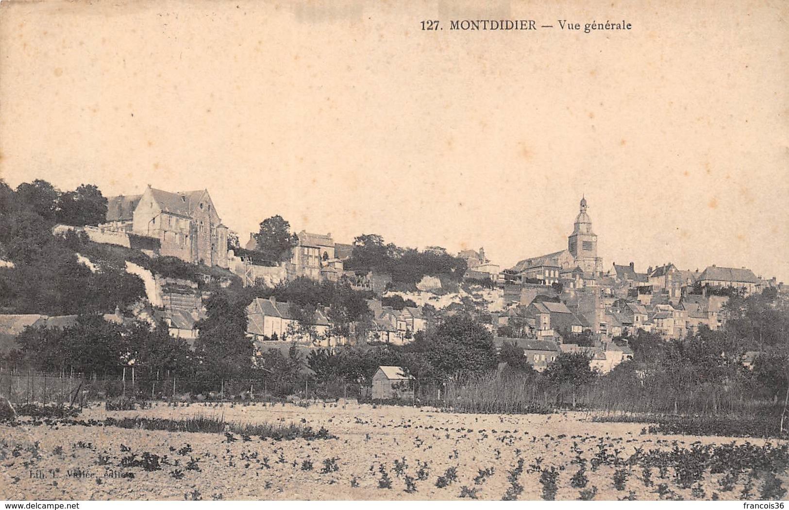 Montdidier (80) - Vue Générale - Montdidier