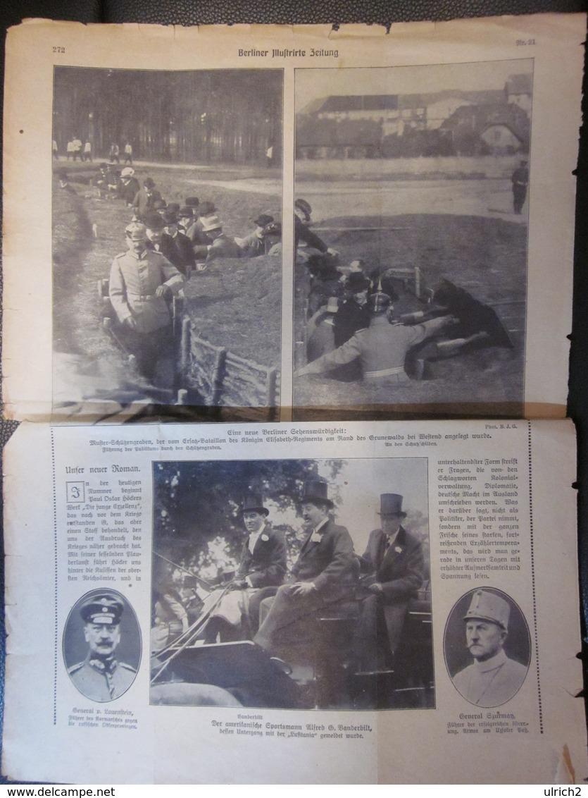 """Berliner Illustrirte Zeitung - Untergand Der """"Bouvet"""" In Den Dardanellen (37144) - Zeitungen & Zeitschriften"""