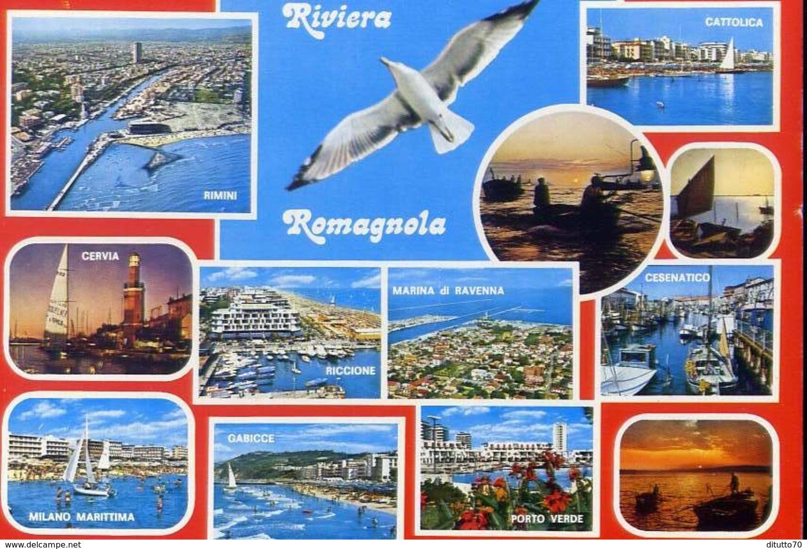 Rviera Romagnola - Cattolica - Rimini - Cervia - Riccione - Marina Di Ravenna - Cesenatico - Milano Marittima - Gabicce - Rimini