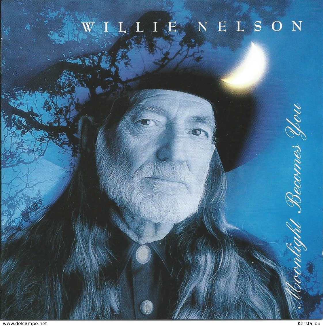 WILLIE NELSON – Moonlight Becomes You – CD – 1993 – 475945 2 – Justice Record Compagny/Columbia – Made In Austria - Country & Folk