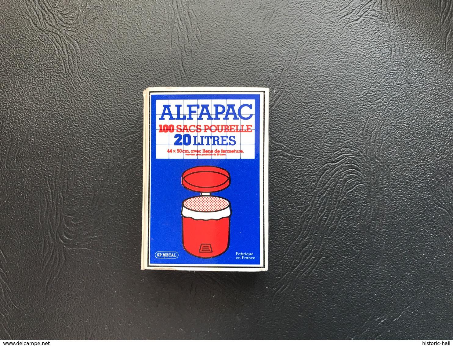 Boite D'allumettes ALFAPAC Sacs Poubelles - Boites D'allumettes - Etiquettes