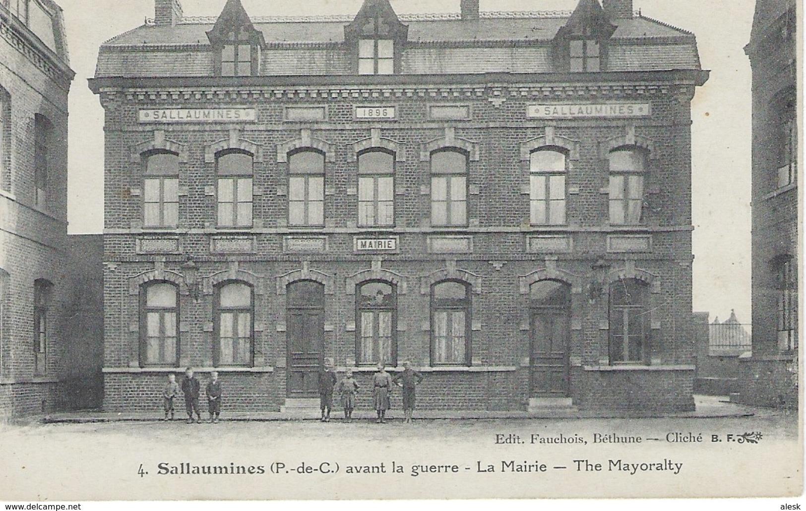SALLAUMINES - Avant La Guerre - La Mairie - Autres Communes