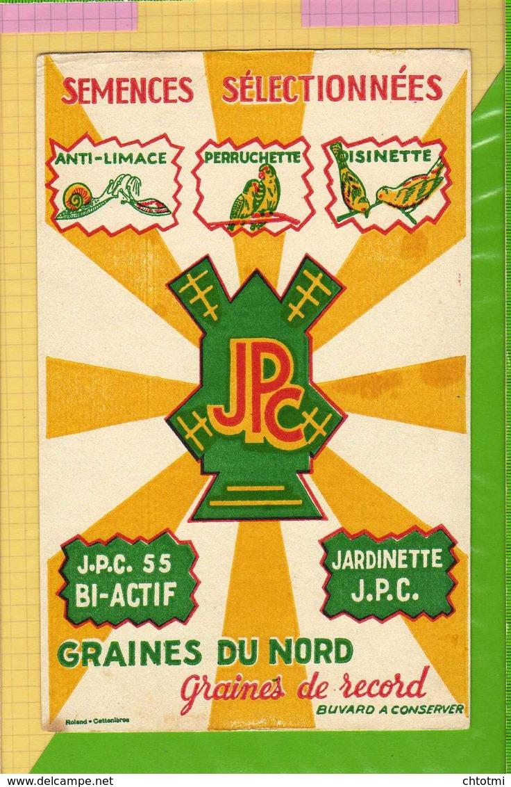 BUVARD & Blotting Paper : Semences Selectionnées Graines Du Nord Perruchette Oisinette - Agriculture