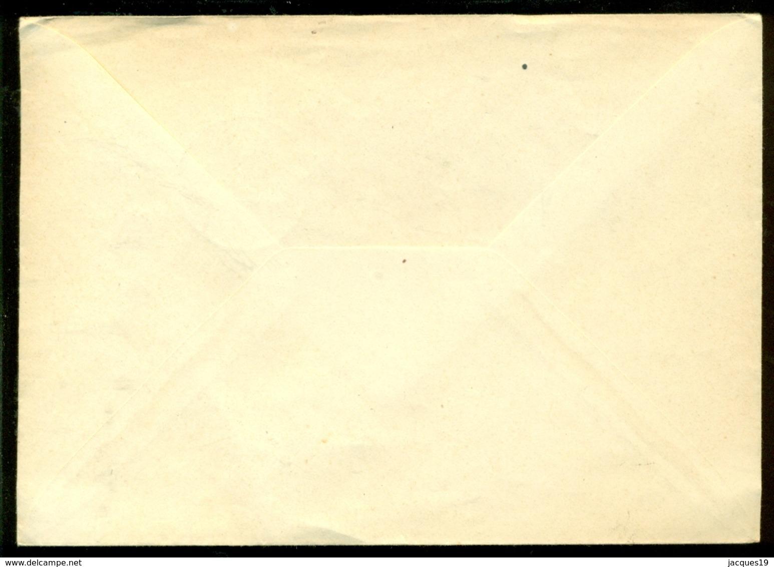 DDR 1954 Ersttagsbrief Zum Tag Der Briefmarke Ohne Adresse Offene Umschlag - DDR