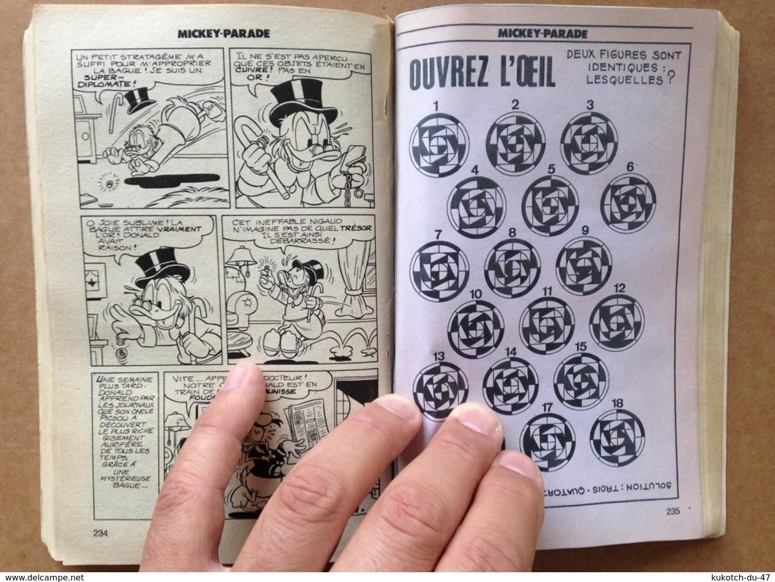Disney - Mickey Parade - Année 1981 - N°24 (avec Grand Défaut D'usure) - Mickey Parade