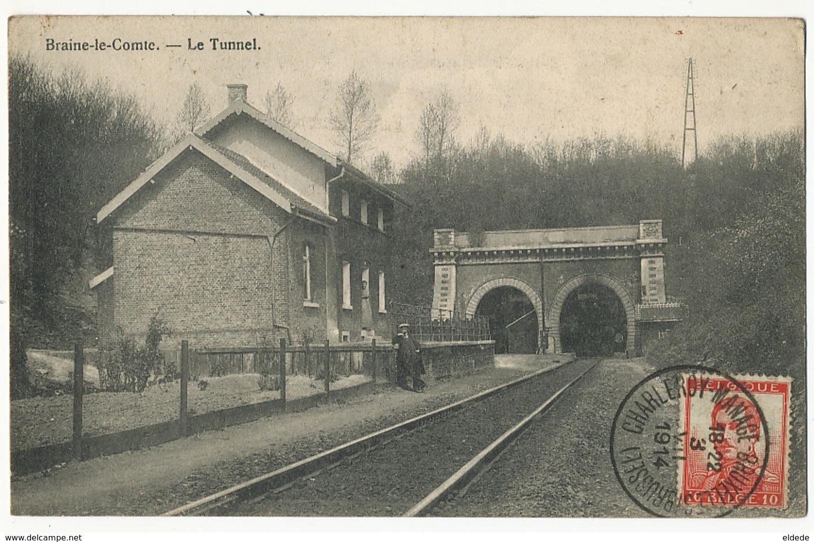 Braine Le Comte Le Tunnel Gare - Braine-le-Comte