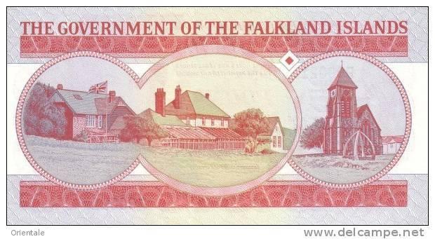 FALKLAND ISLANDS P. 17a 5 P 2005 UNC - Falkland