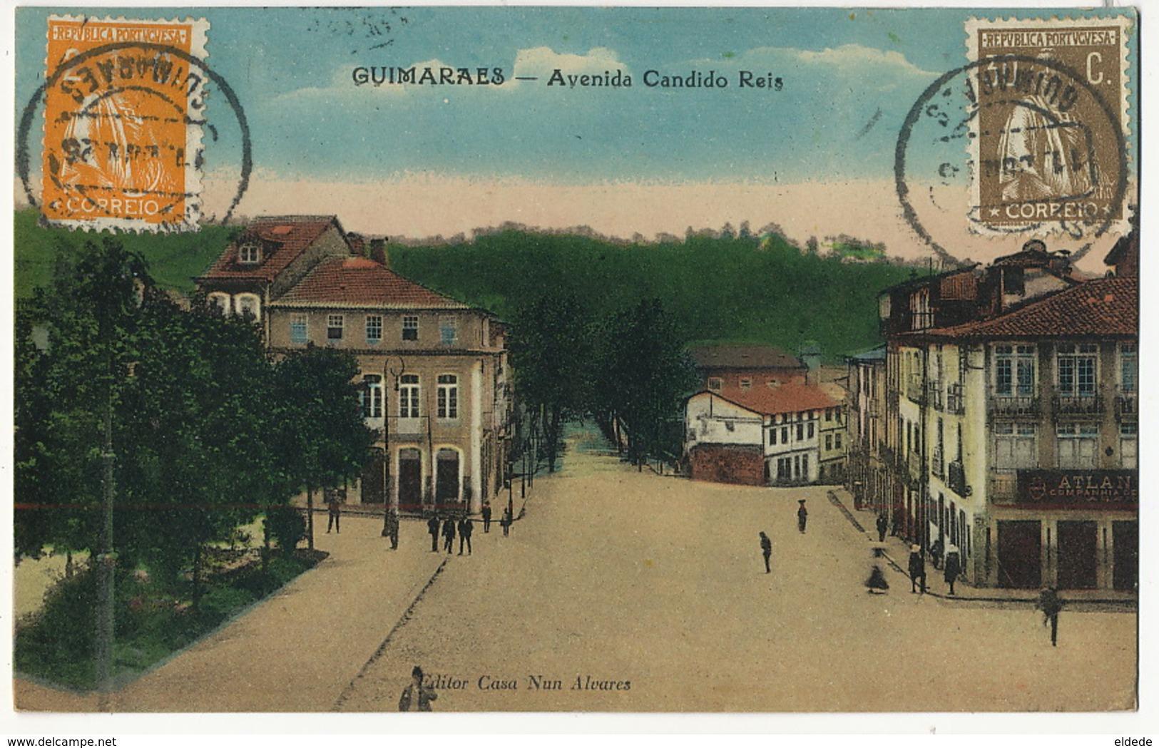 Guimaraes Avenida Candido Reis Edit Casa Nun Alvarez - Autres