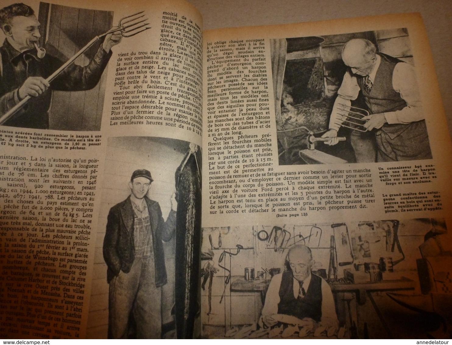 1948 MÉCANIQUE POPULAIRE: Patinage Sur Glace; Etude Des Avalanches; Faire Un Berceau Hollandais;etc - Technical