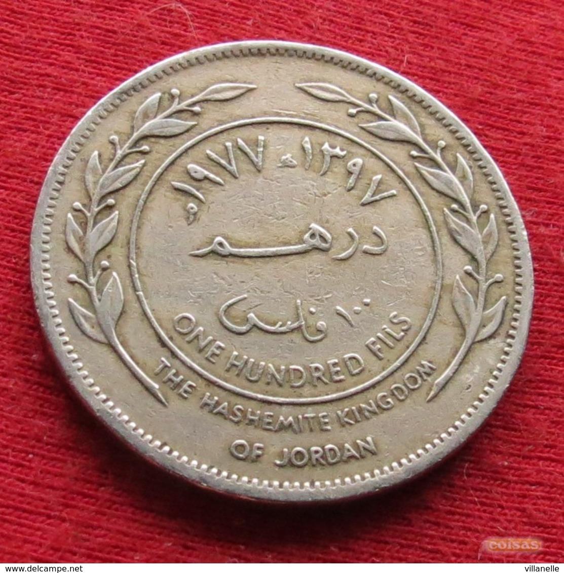 Jordan 100 Fils 1977 KM# 19  Jordanie Jordania - Jordanie