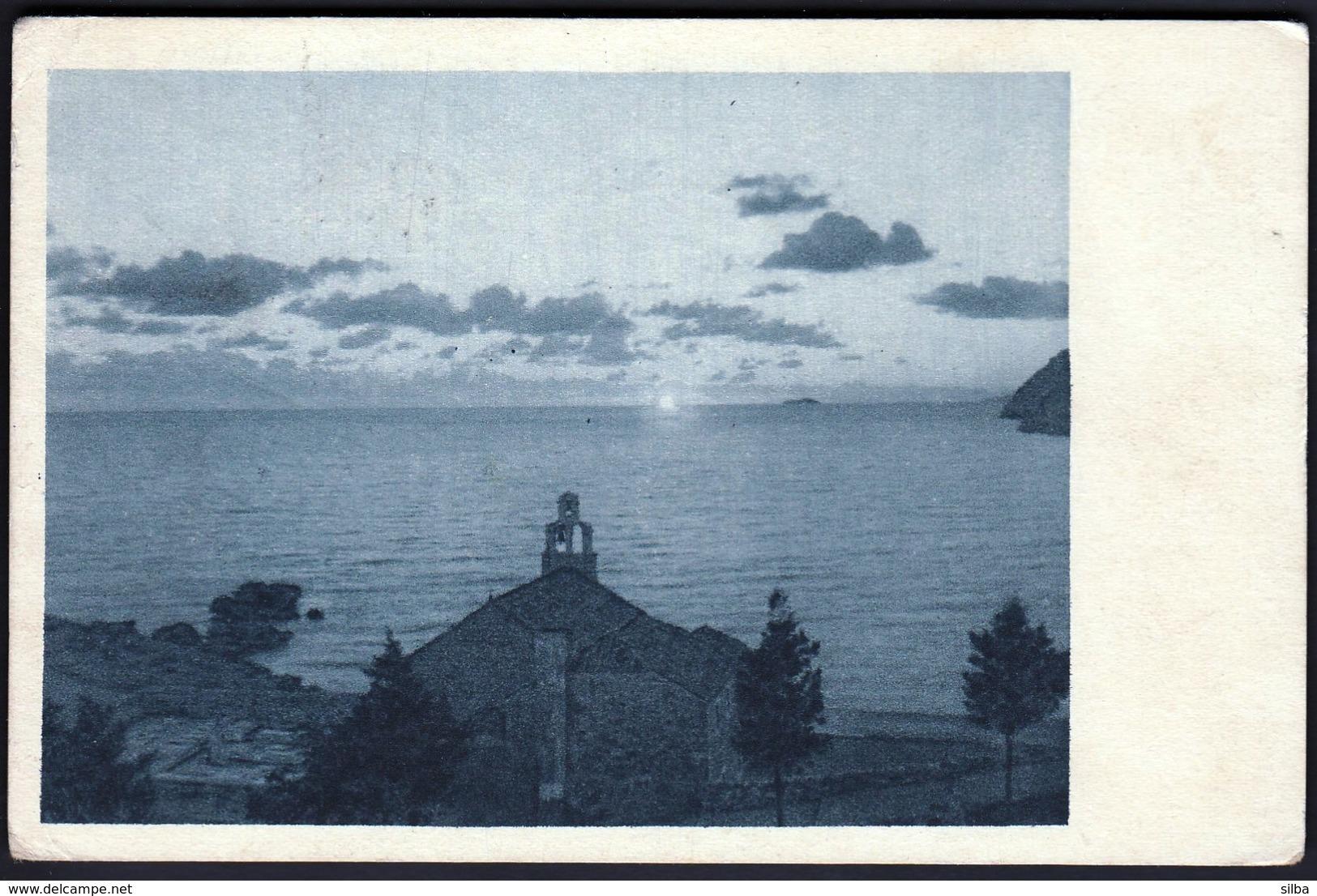 Croatia Dubrovnik, Ragusa 1935 / Dance / Chapel Cemetery - Croatia