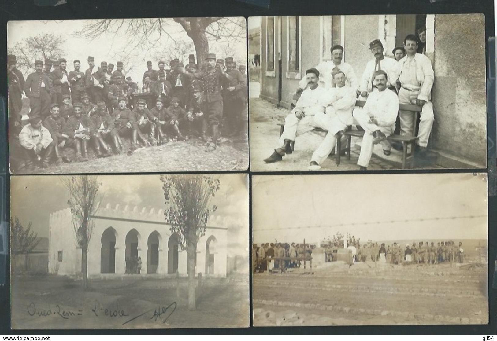Lot De 32 Cpa Photos , Guerre 14/18, Différents Fronts , Archive Henri Touret -  Ip02 - Guerre 1914-18
