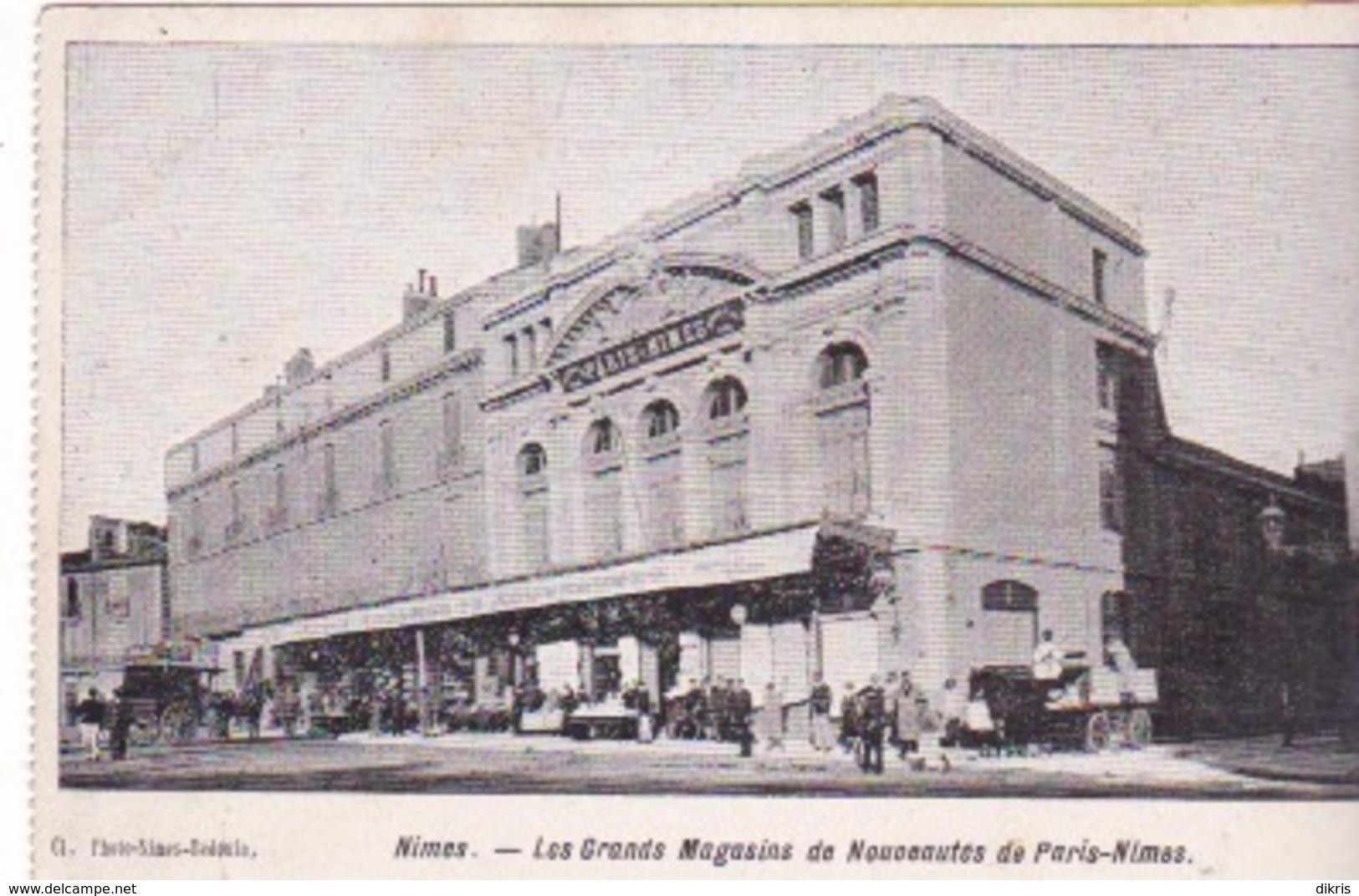30-NIMES- LES GRANDS MAGASINS DE NOUVEAUTÉS DE PARIS-NIMES - Nîmes