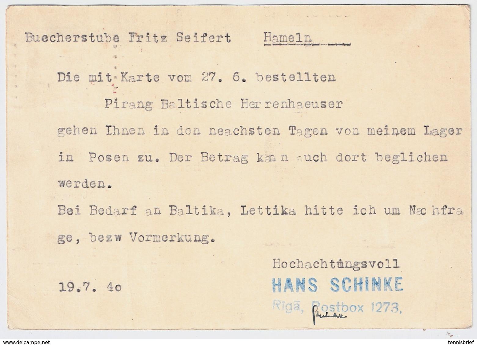 Nr. 1, Paar, Befund!  , #a1267 - Lettland