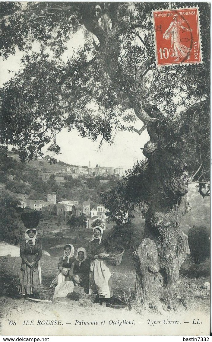 Ile Rousse-Palmento Et Occiglioni 1913 - France