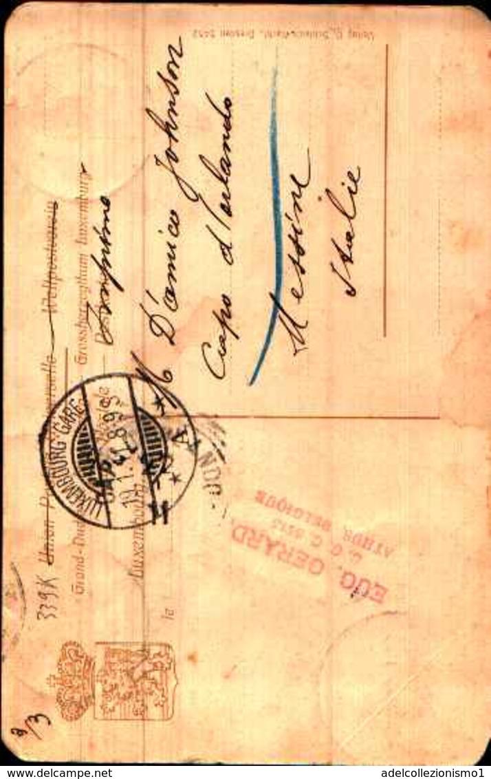 72940) LUSSEMBURGO CARTOLINA DI LES TROIS TOURS-VIAGGIATA - Cartes Postales