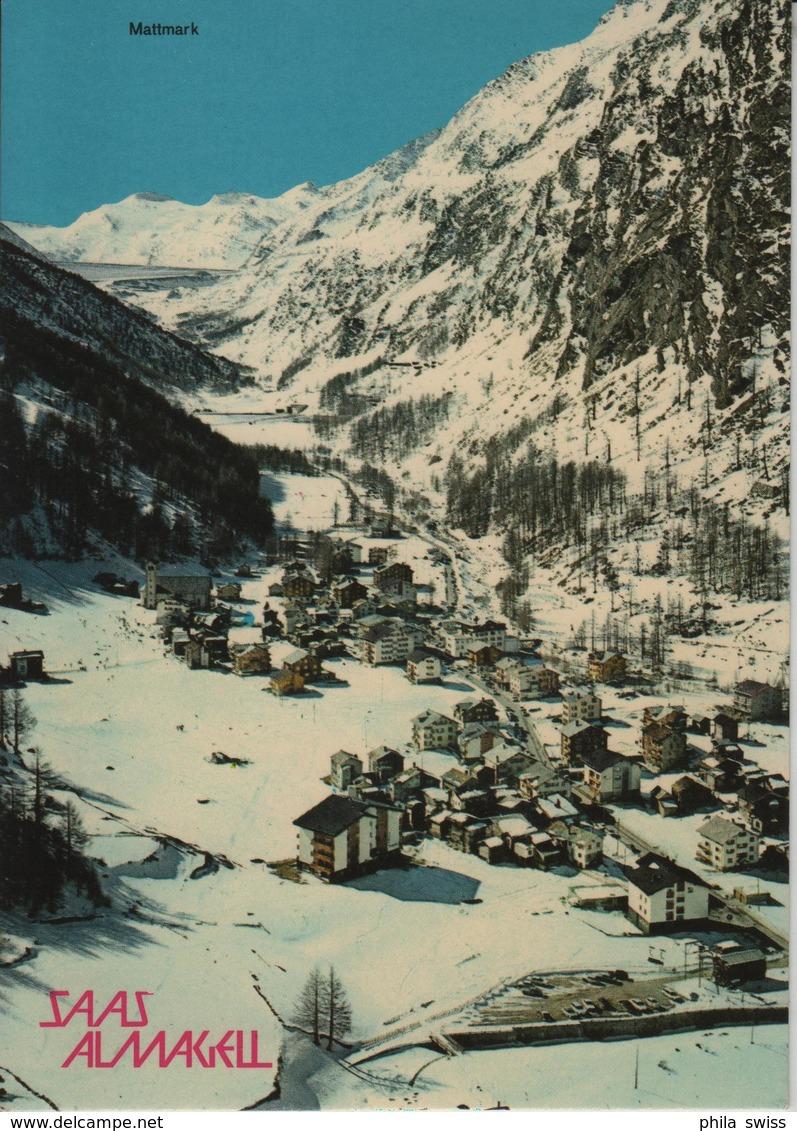 Saas-Almagell - Mattmark Im Winter En Hiver - VS Valais