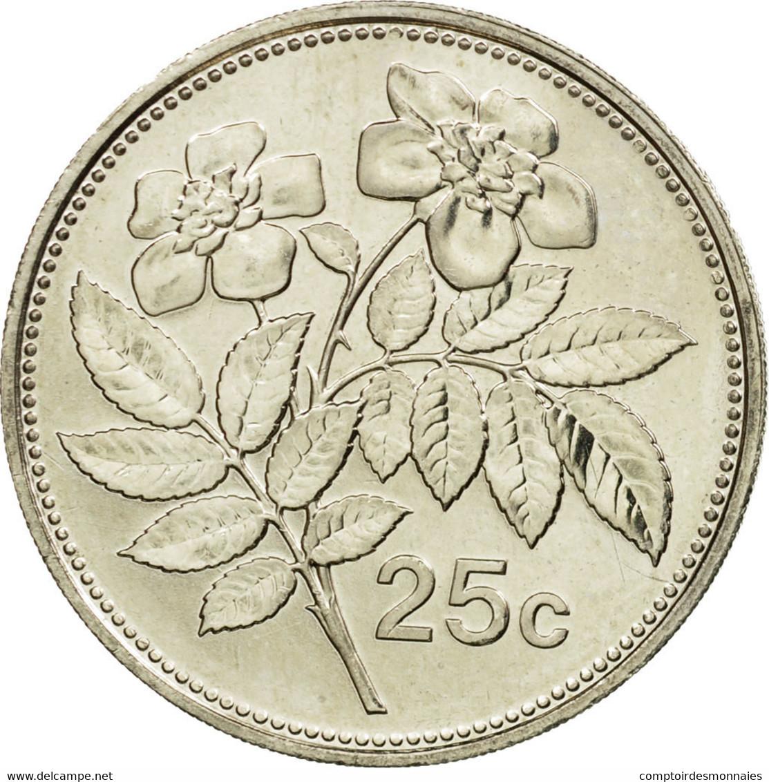 Monnaie, Malte, 25 Cents, 2006, Franklin Mint, SUP, Copper-nickel, KM:97 - Malte
