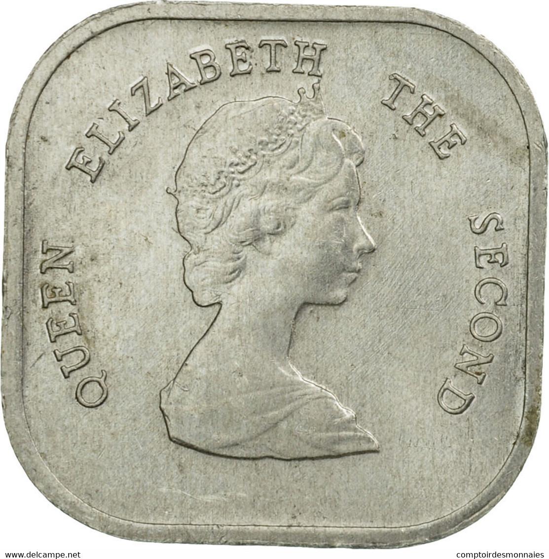 Monnaie, Etats Des Caraibes Orientales, Elizabeth II, 2 Cents, 1986, TTB - Caraïbes Orientales (Etats Des)
