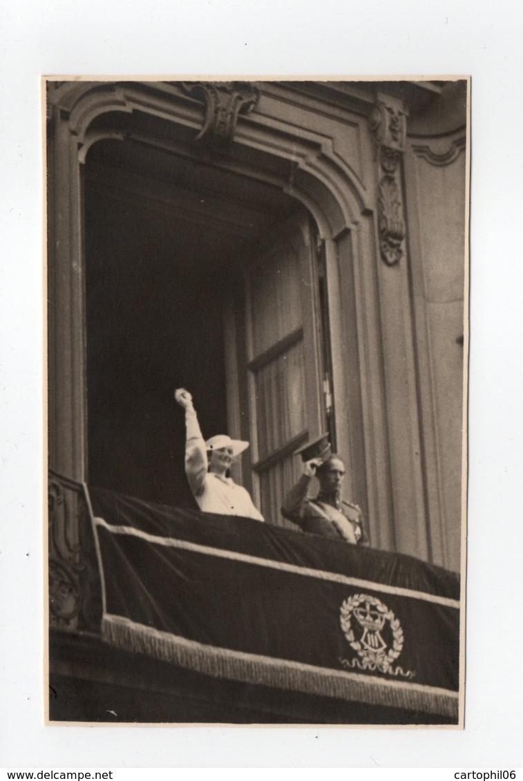 - CPA COUPLE ROYAL BELGE - Joyeuse Entrée à Anvers 12.5.1935 - Photo N. DEFRAENE - - Familles Royales