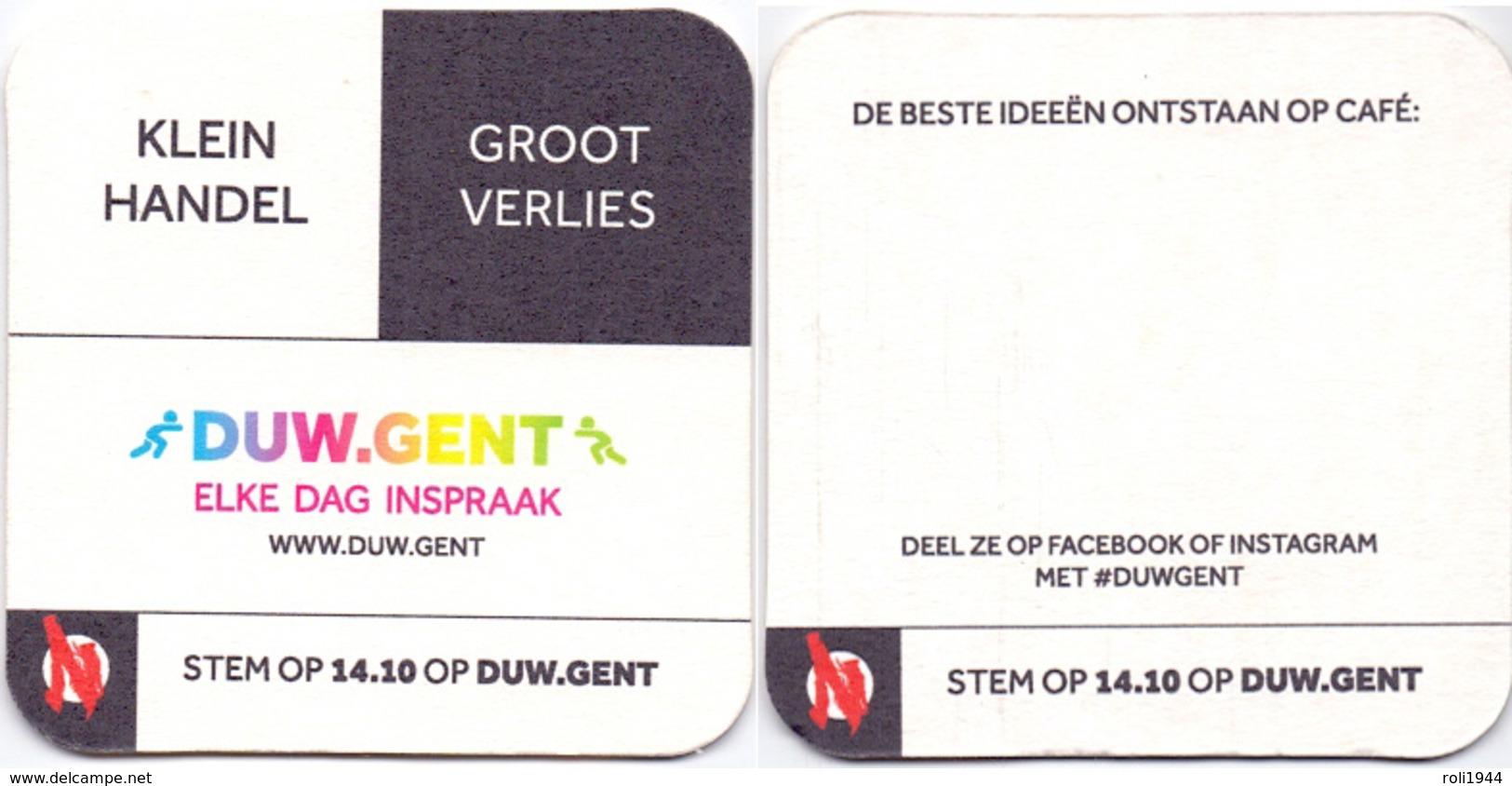 #D228-073 Viltje Over Gent - Sous-bocks