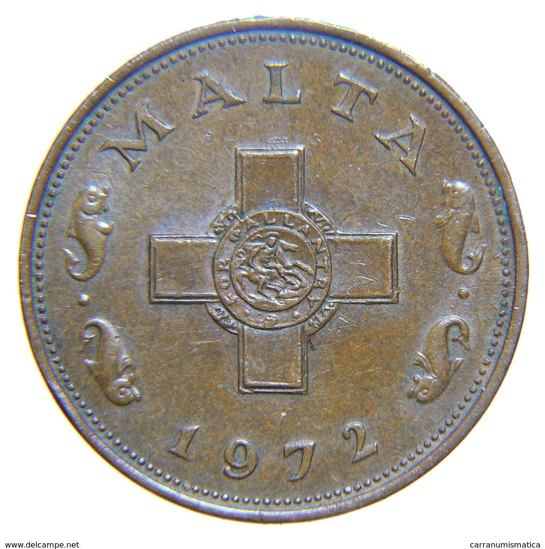 [NC] MALTA - 1 CENT 1972 (nc3611) - Malta