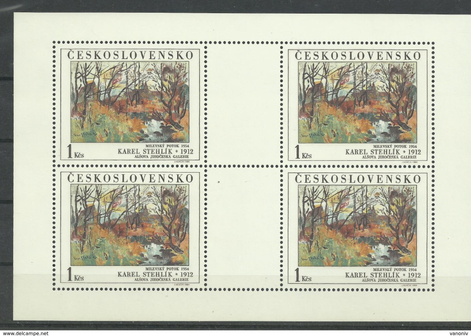 Tschechoslowakei 2789 ** Im KB - Nuevos