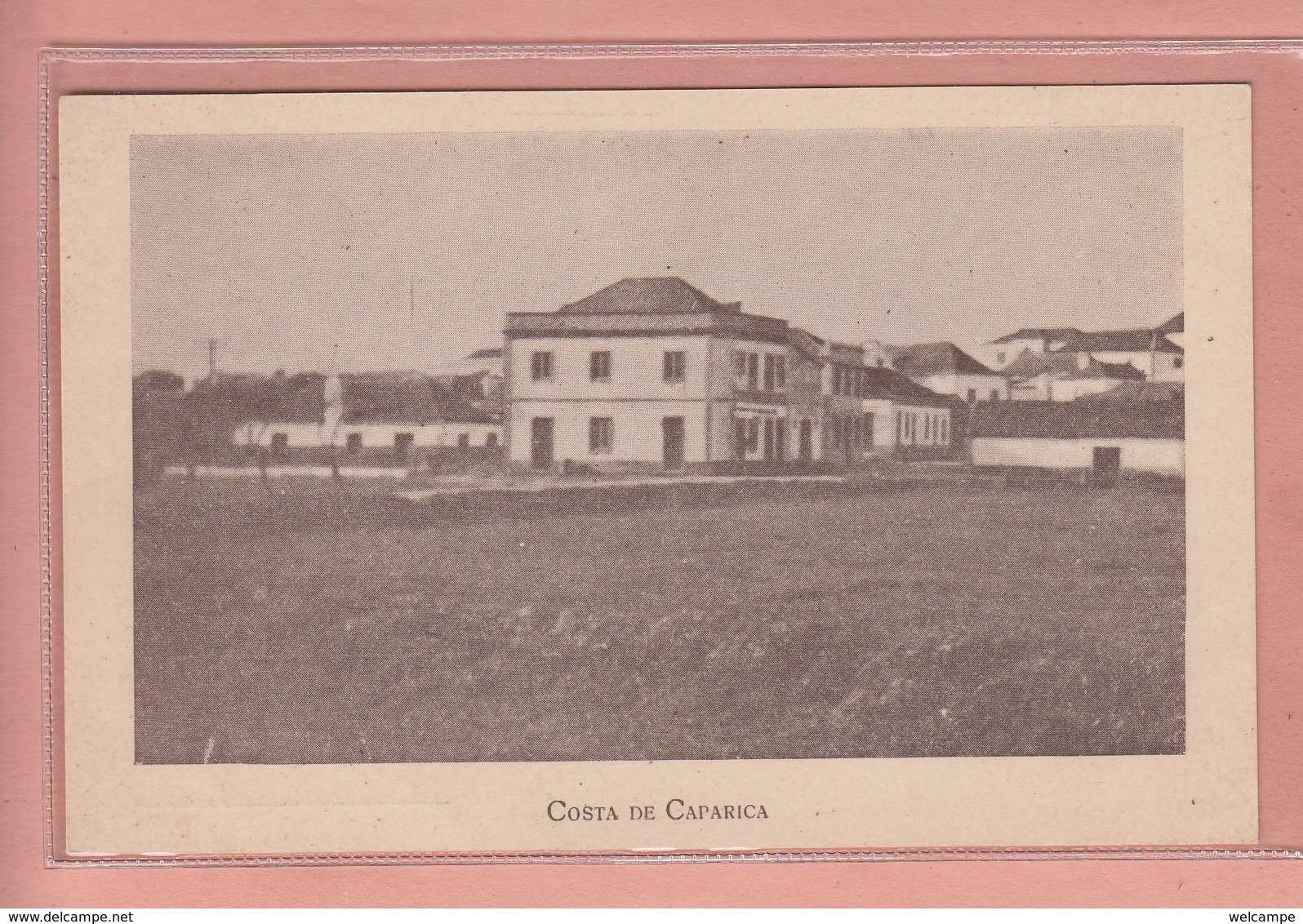 OLD POSTCARD  PORTUGAL - COSTA DE CAPARICA - Setúbal