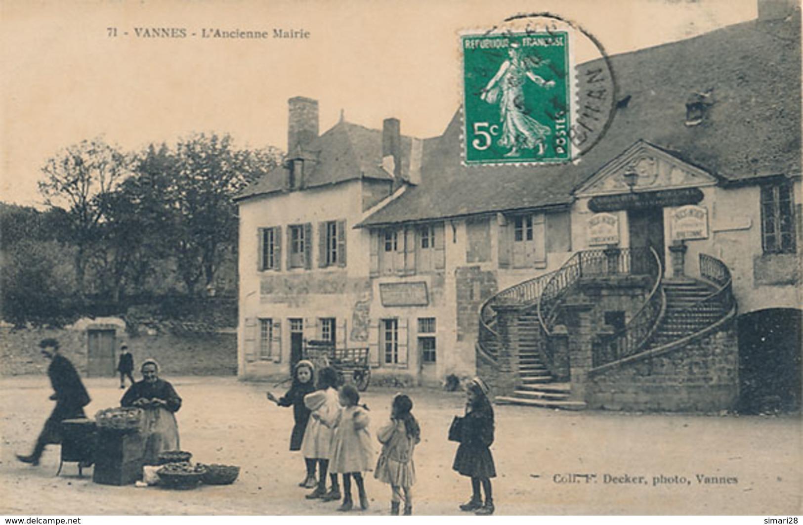 VANNES - N° 71 - L'ANCIENNE MAIRIE - Vannes