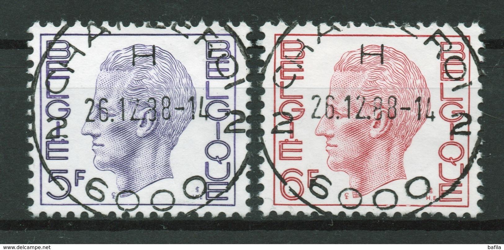 BELGIE: COB 1645/1646 Zeer Mooi Gestempeld. - Belgique