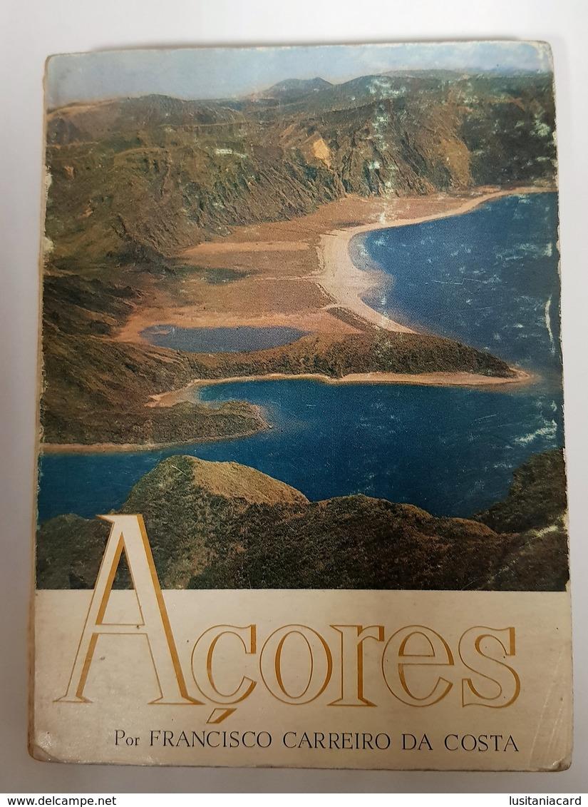 AÇORES - MONOGRAFIAS -  (Autor: Francisco Carreiro Da Costa - 1969) - Livres, BD, Revues