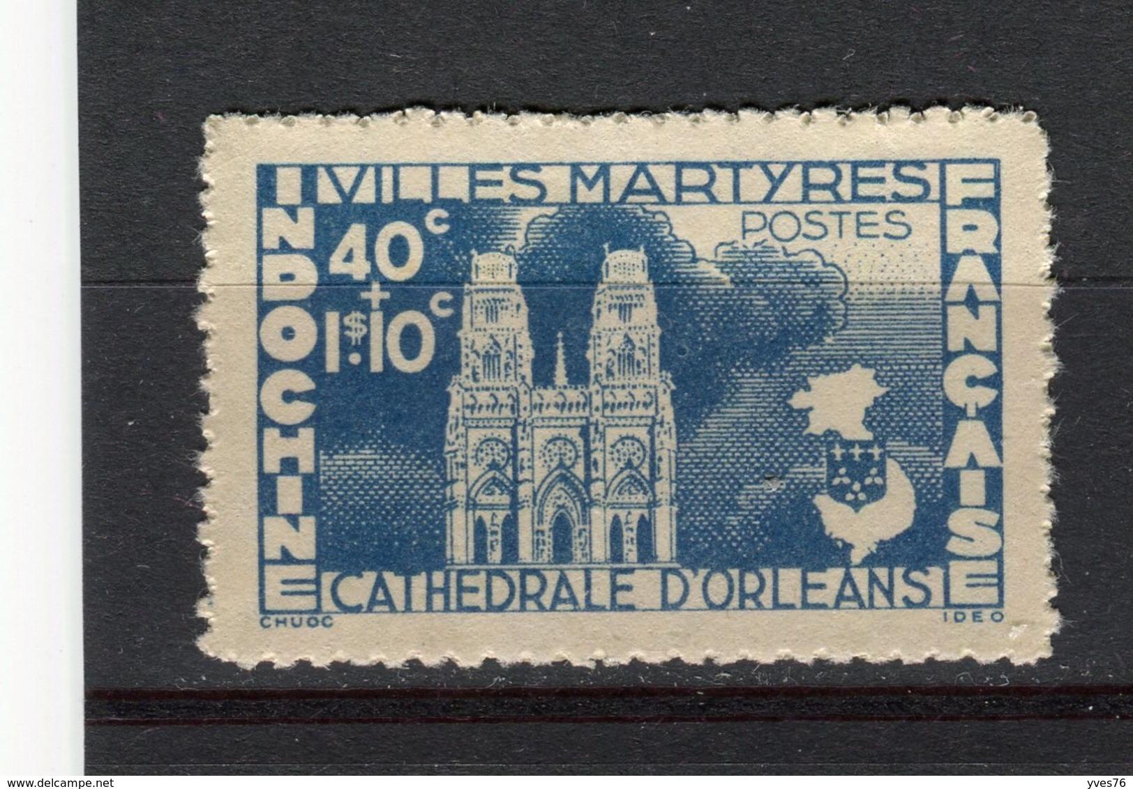 INDOCHINE - Y&T N° 293(*) - Villes Françaises Martyres - Neufs