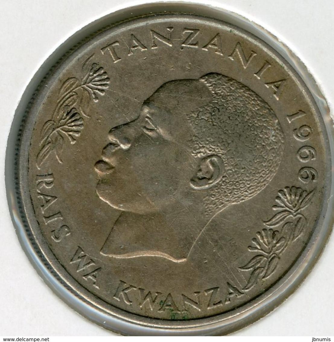 Tanzanie Tanzania 1 Shilingi 1966 KM 4 - Tanzanie