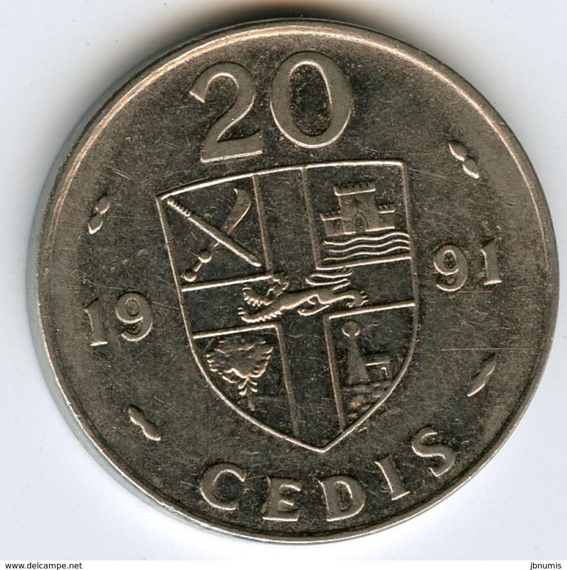Ghana 20 Cedis 1991 KM 30 - Ghana