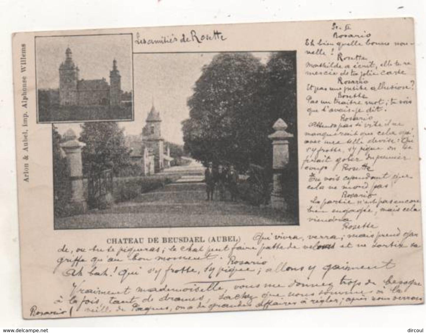 39504  -  Chateau De  Beusdael  - Aubel - Aubel