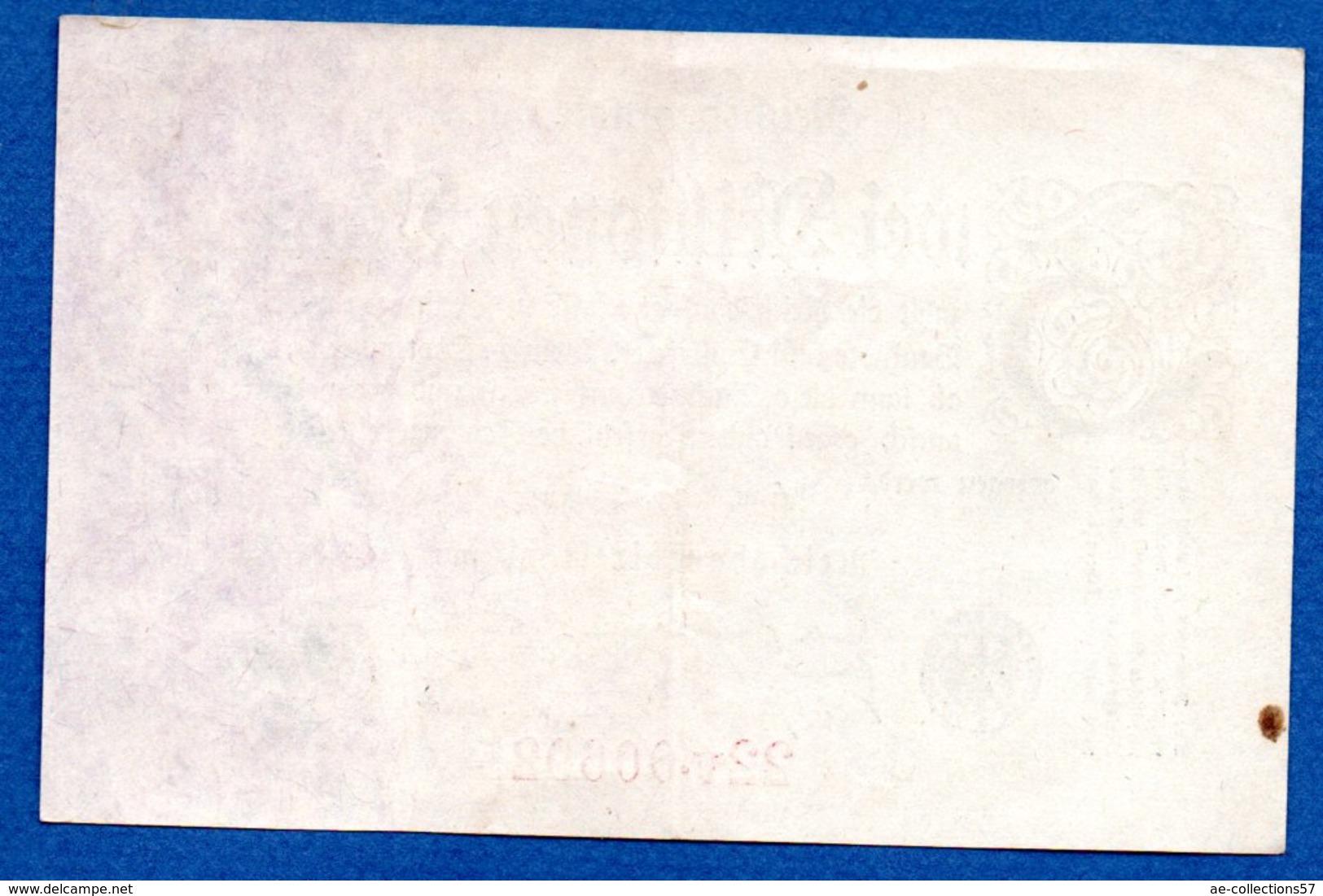 Allemagne  -  2 Millionen   Mark  9/8/1923   - Pick # 103 -  état  TTB - [ 3] 1918-1933 : Repubblica  Di Weimar