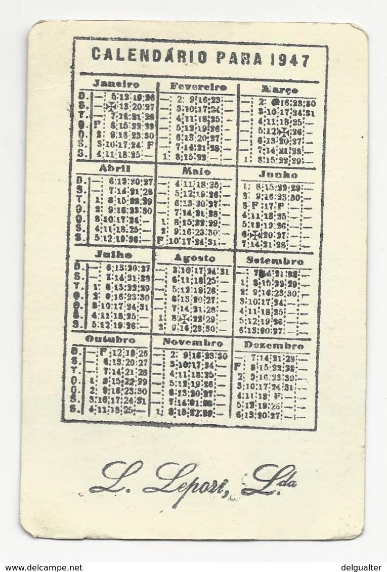 Calendar * Portugal * 1947 * Erotic - Calendriers