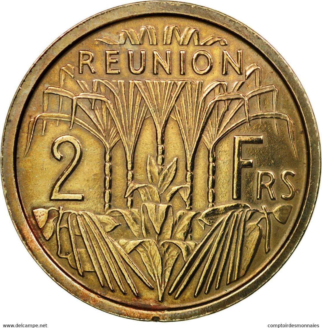 Monnaie, Réunion, 2 Francs, 1948, Paris, ESSAI, SUP+, Copper-nickel, KM:E4 - Réunion