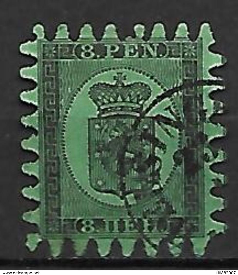 FINLANDE   -    1866  .  Y&T N° 6 Oblitéré. - 1856-1917 Russian Government