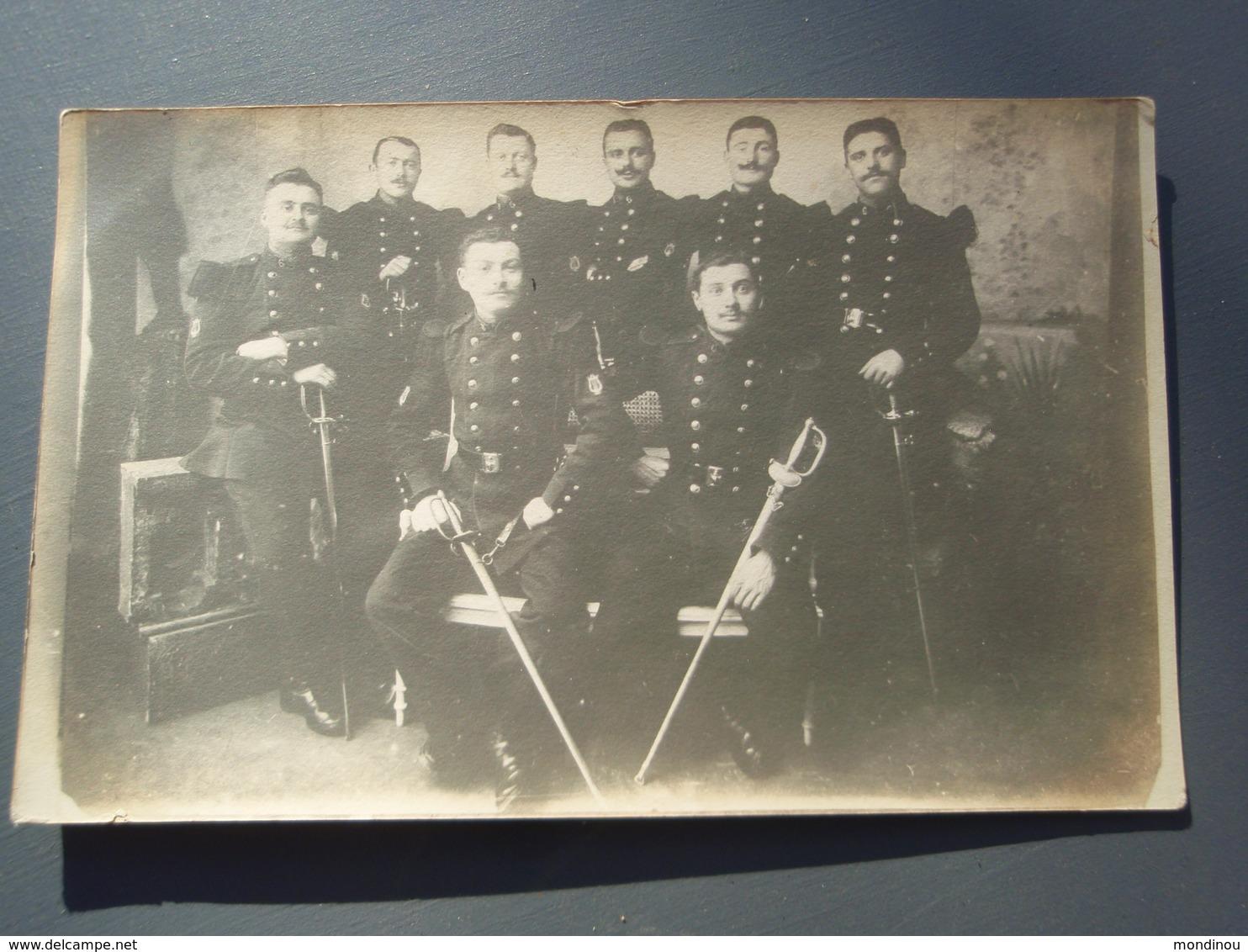 Cpa  Groupe De Soldats Du Génie Musiciens ANGERS De BAGNEUX 49 Près De Saumur - Régiments