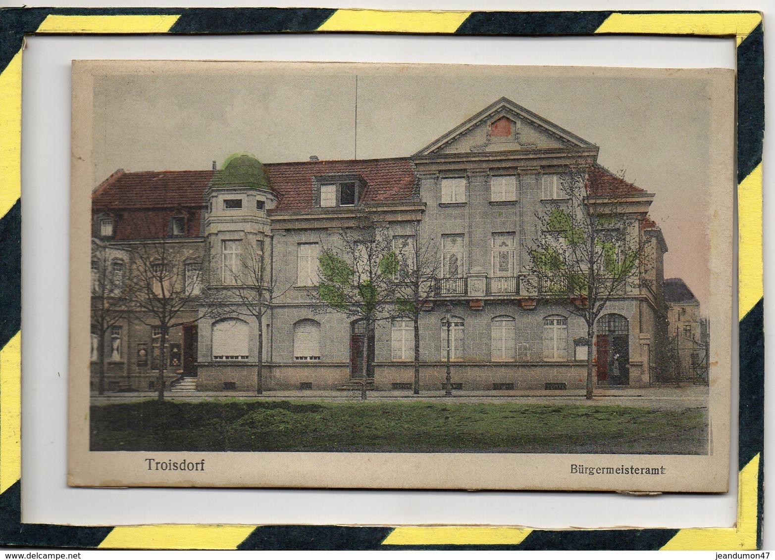TROISDORF. - . BÜRGERMEISTERAMT - Troisdorf