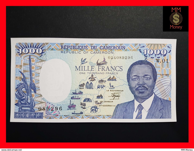 CAMEROUN 1.000 Francs  1.01.1985  P. 25 ERROR  UNC - Camerun