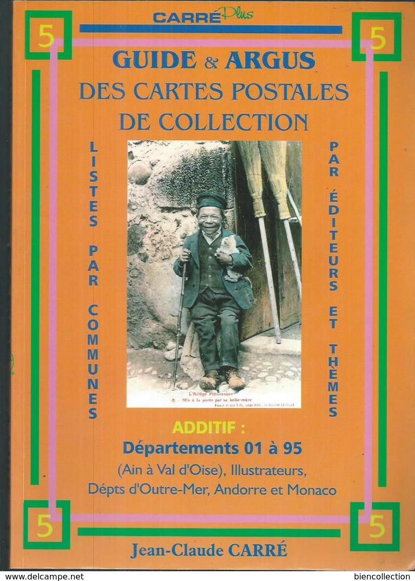 Guide Et Argus Des Cartes Postales De Collection Carré. Les 5 Volumes En Très Bon état - Livres & Catalogues
