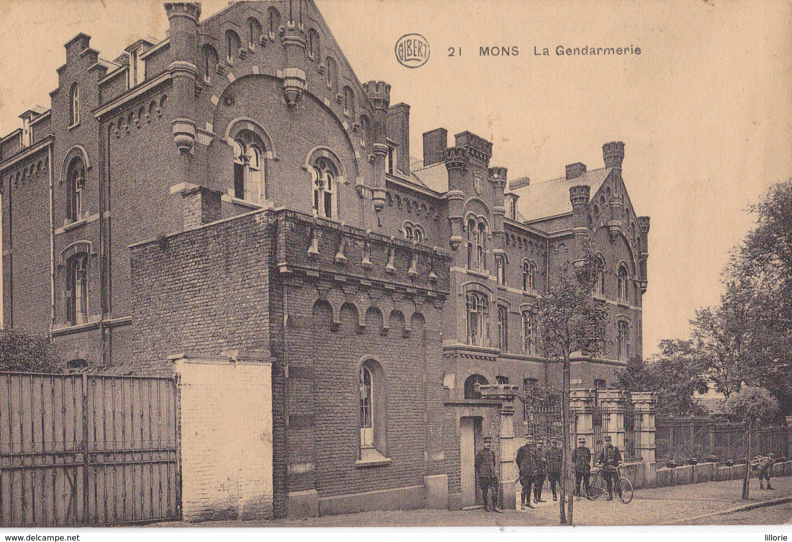 Mons La Gendarmerie - Mons