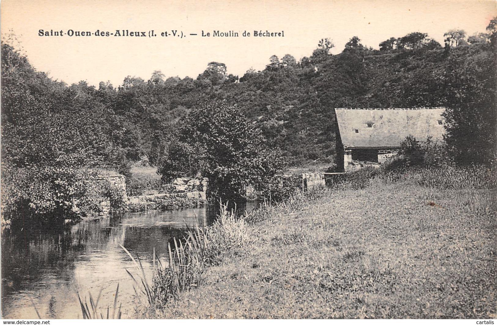 35-SAINT OUEN DES ALLEUX-N°174-F/0345 - Other Municipalities