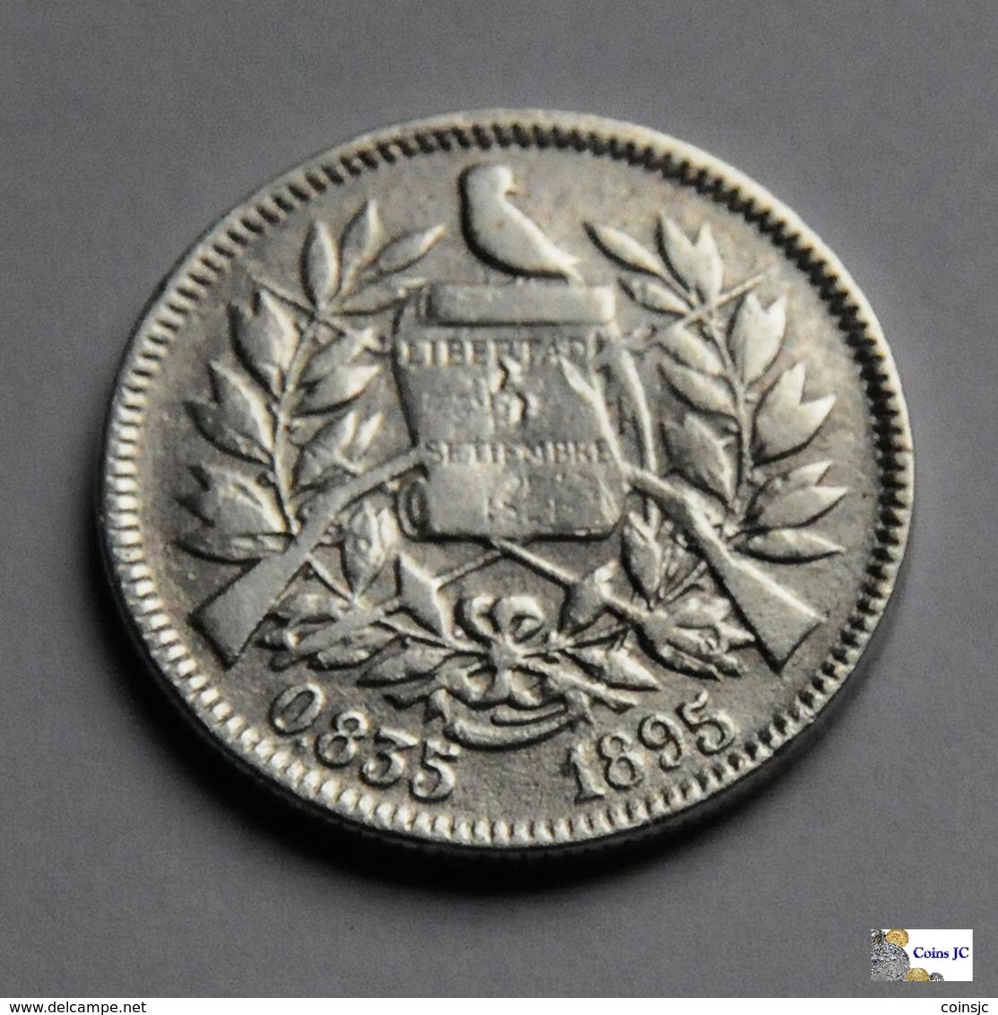 Guatemala - 2 Reales - 1895 - Guatemala