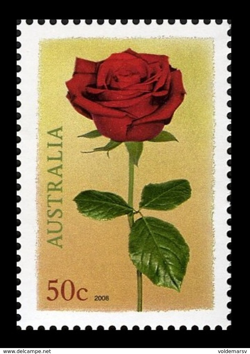Australia 2008 Mih. 2917 Flora. Flowers. Rose MNH ** - 2000-09 Elizabeth II