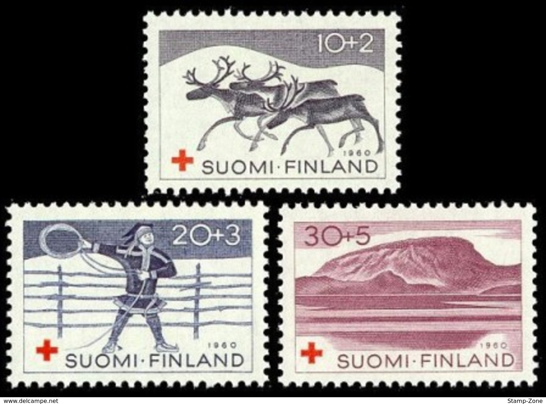 Finland, 1960, Motifs From Lapland, Set, MNH, Mi# 528/30 - Finland