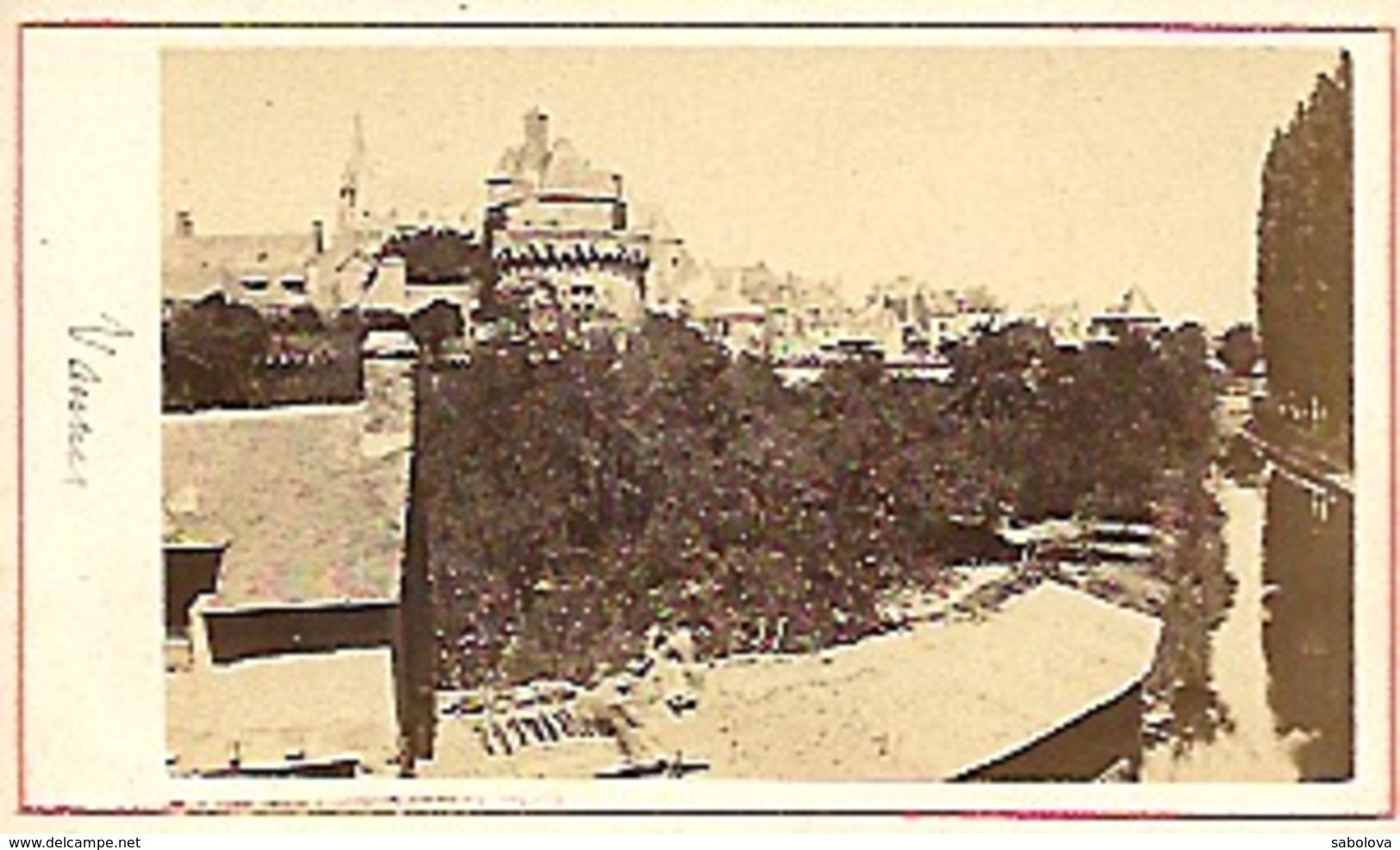 Photo Sur 6,2 Photographe Non Cité . Vannes Avant 1870 ? - Photographs