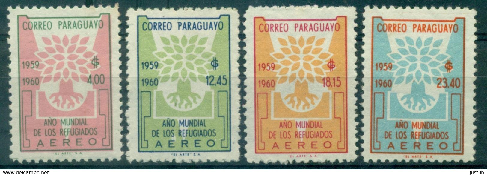 PARAGUAY PA N°257 / 260 N Xx Année Du RéfugiéTB .cote 17.50 € - Paraguay